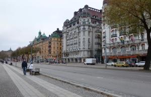 Midday, central Stockholm