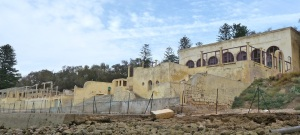 The Sultan's ruined villa, Oualidia.