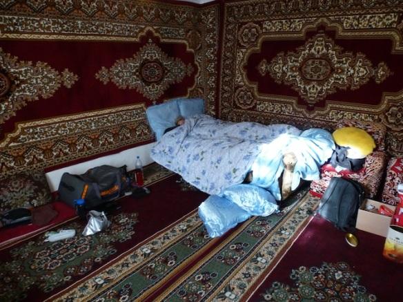 Langar carpeted room