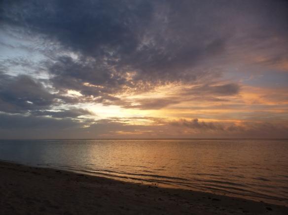 Cook Islands sunset