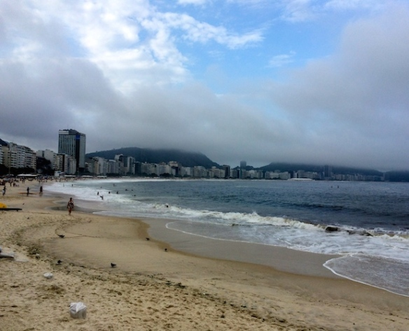 It wouldn't be Rio without the beach - Copacabana